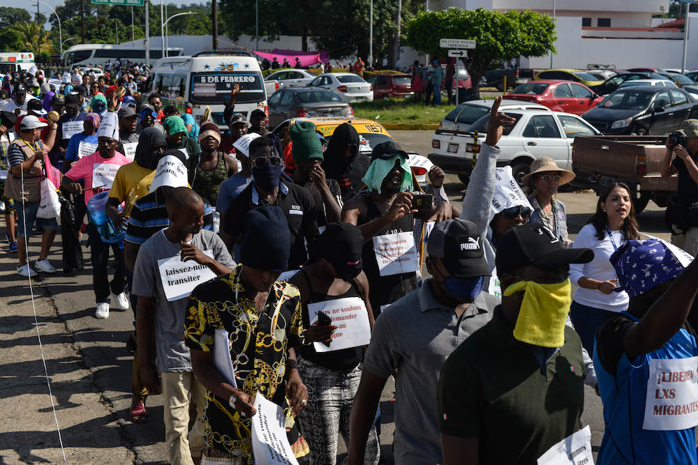 marcha-africanos-tapachula-chiapas