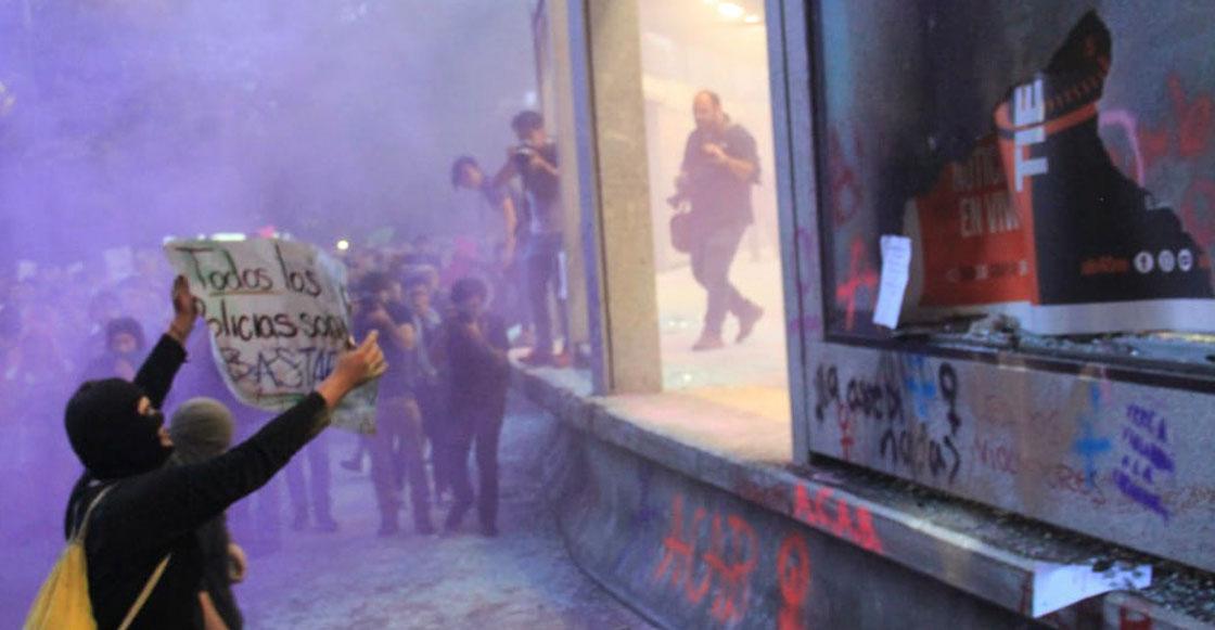 No, el vandalismo no es el verdadero problema de la marcha feminista en la CDMX