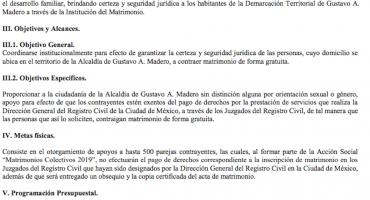 ¡Abusados y abusadas! Gobierno CDMX anuncia 'matrimonios colectivos'