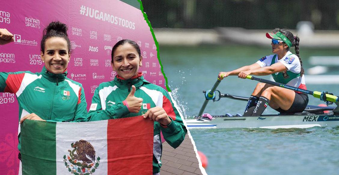 ¡Frontón y remos cortos le dan a México las medallas de oro 30 y 31 en Panamericanos!