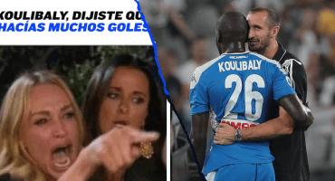 Los memes atacan a Koulibaly tras el autogol en el debut del 'Chucky' con el Napoli