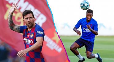 Barcelona descarta a Messi contra el Betis y llama a su joya juvenil de 16 años