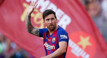 Barcelona descarta oficialmente a Messi para el primer partido de La Liga
