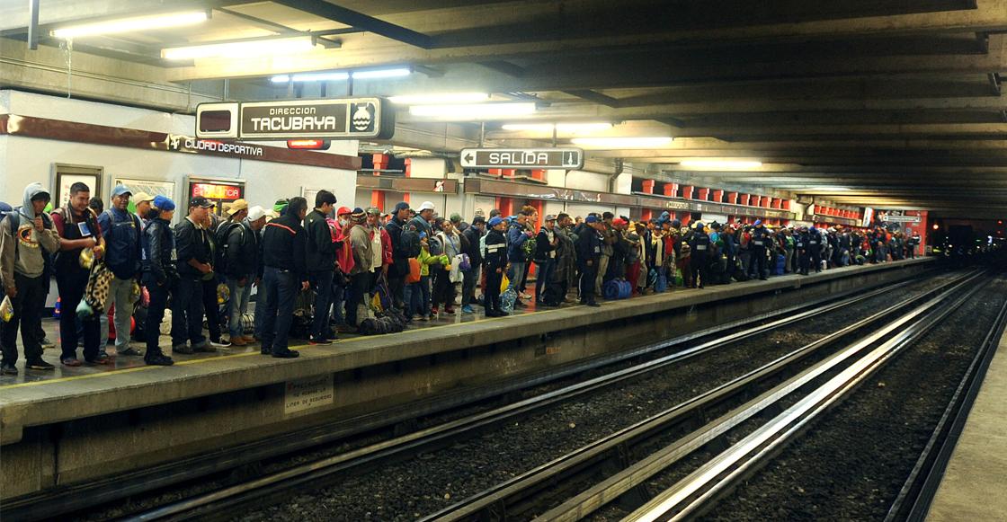 Muere persona tras arrojarse a las vías del metro en la línea 9; no es la primera
