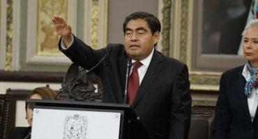 Nueva era para Puebla: Miguel Barbosa toma protesta como gobernador