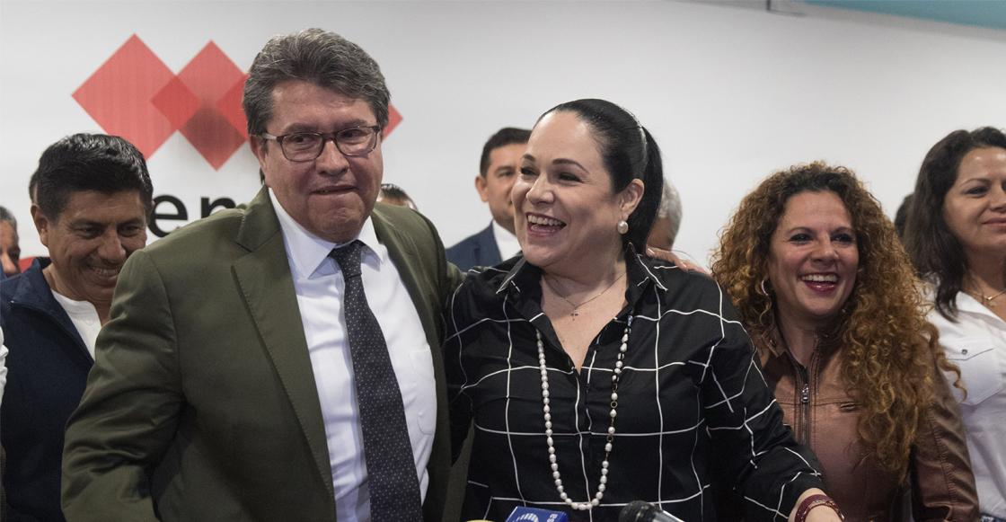 ¡Sigue el pleito! A pesar de invalidación, senadores de Morena ratifican a Mónica Fernández
