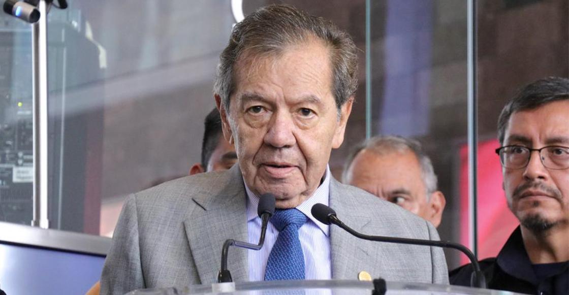 Muñoz Ledo va por un periodo más como presidente de la Cámara de Diputados