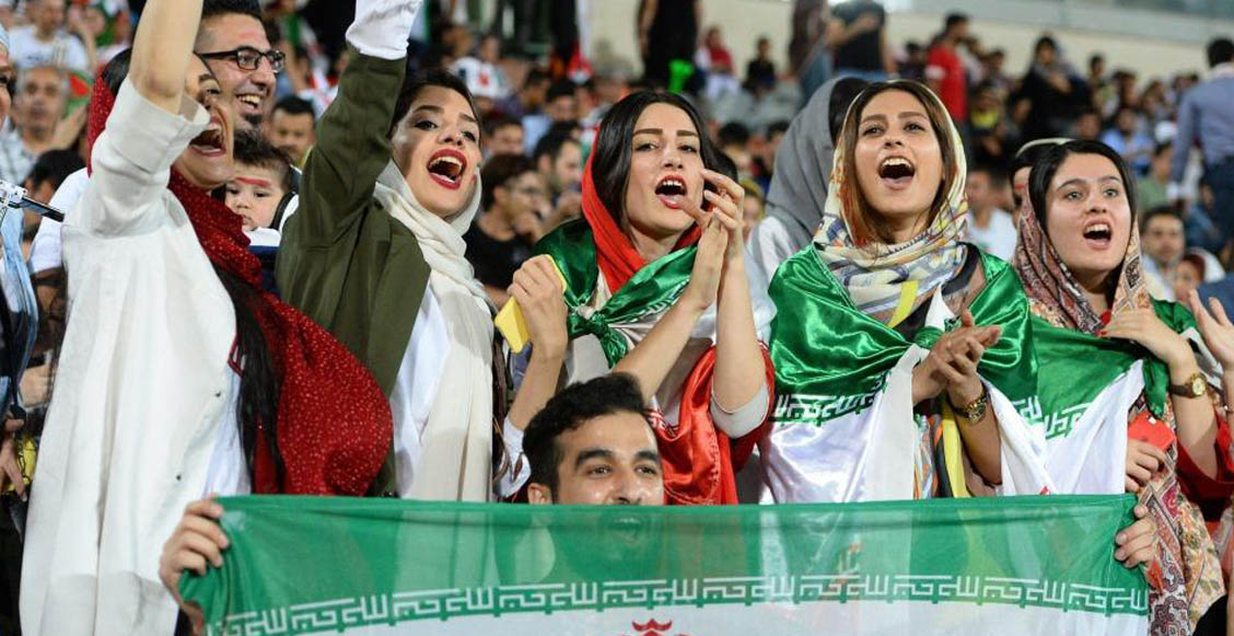 Por primera vez desde 1979, mujeres podrán asistir a un partido de futbol en Irán