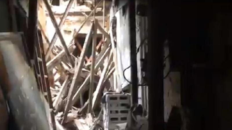 Se desploma anexo del Museo de la Estampa; era obra inconclusa del 19S