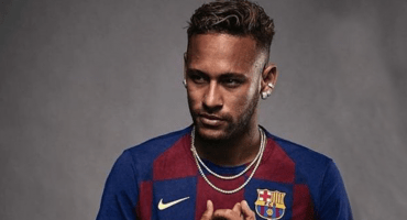 Un patrocinador de Neymar difunde imagen del brasileño con playera del Barcelona