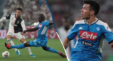 ¡Por un autogol! Juventus venció al Napoli pese a la brillante actuación del 'Chucky' Lozano