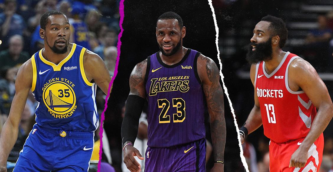 ¿Dónde quedó Kobe Bryant? Este es el mejor quinteto de la década según la NBA