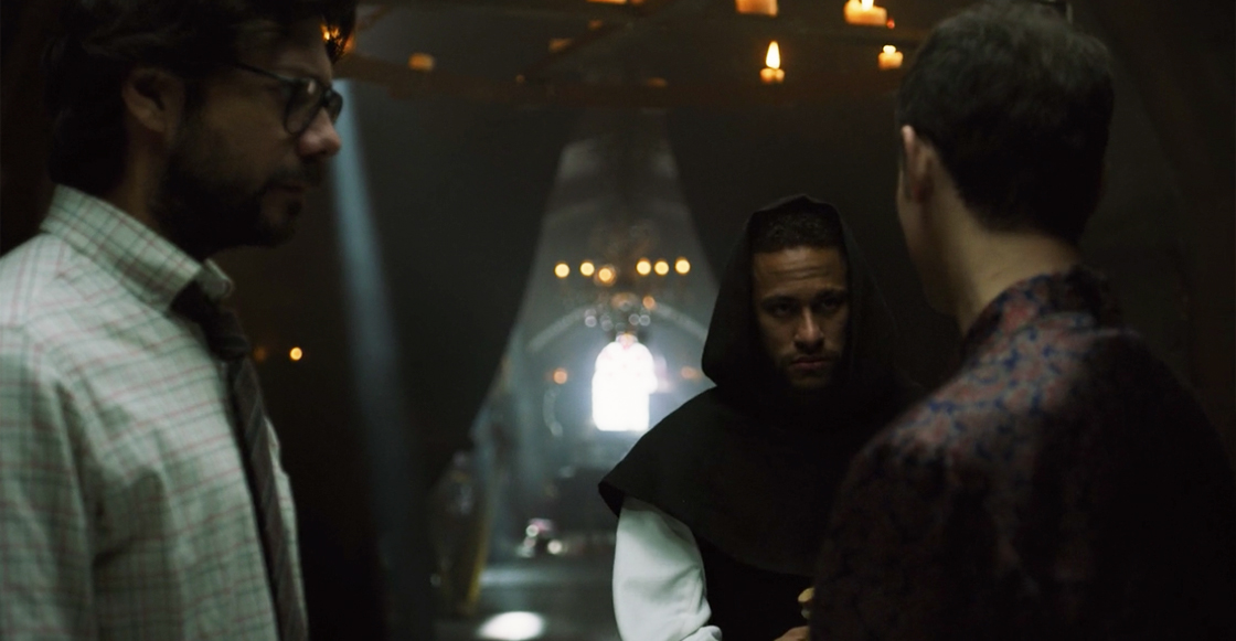 Ya denle su TVyNovelas: ¡Mira los cameos de Neymar en 'La Casa de Papel'!