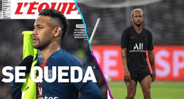 Neymar se rinde y se quedará en París un año más, aseguran en Francia