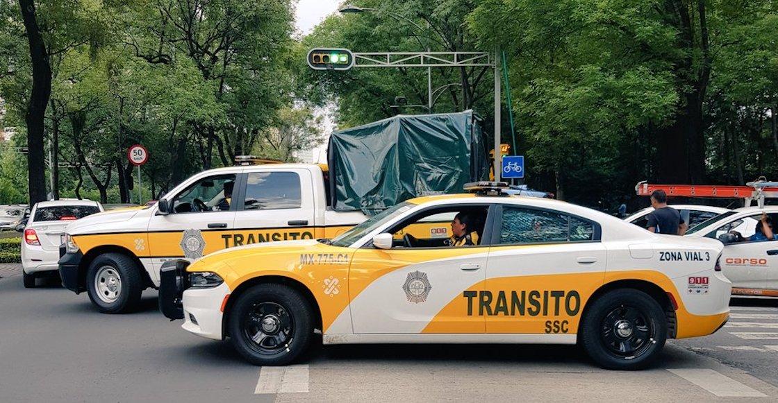 ¿Cómo las ven? Estas son las nuevas patrullas de tránsito de la CDMX