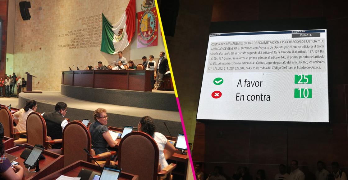 ¡Aplausos! Congreso de Oaxaca aprueba el matrimonio igualitario