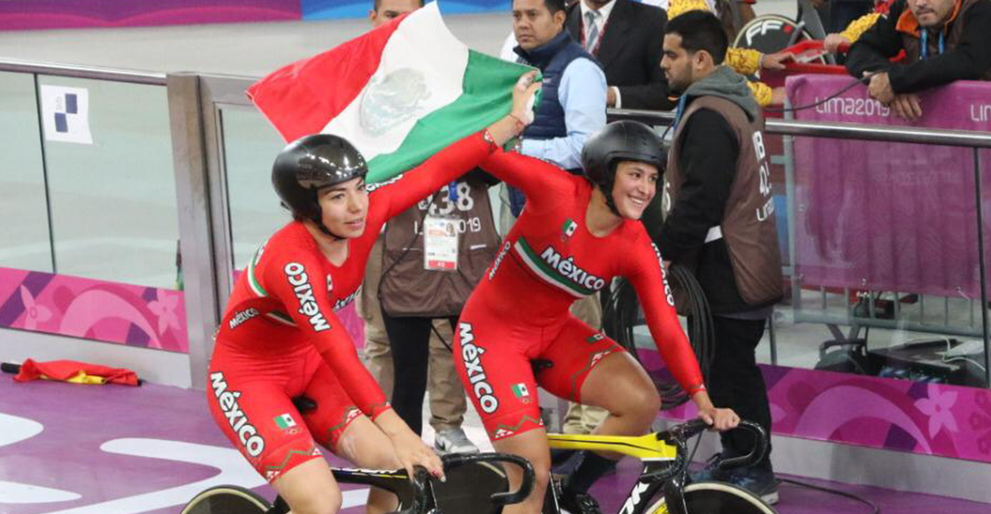Oro y récord panamericano para México en ciclismo de velocidad por equipos