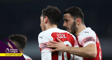 Ozil y Kolasinac están mentalmente listos para jugar el sábado con el Arsenal