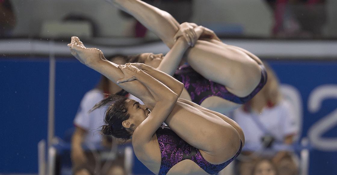 Paola Espinosa y Lolita Hernández ganan bronce en el trampolín de tres metros
