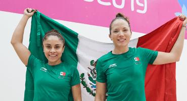 Paola Longoria conquista su segundo oro en el día junto a Samantha Salas