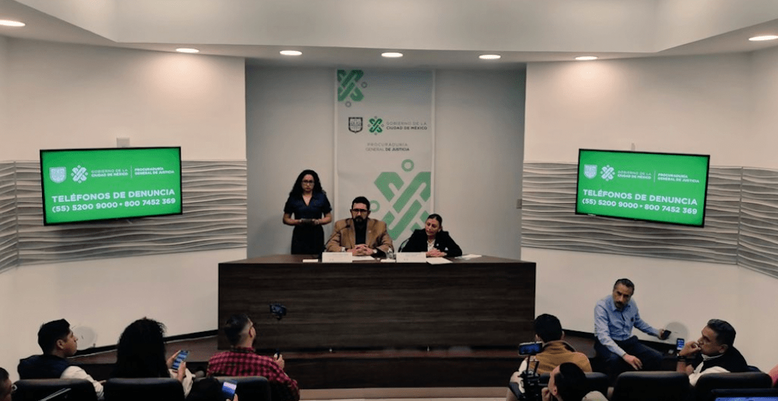 PGJCDMX investigará filtraciones en el caso de los policías acusados de abuso sexual