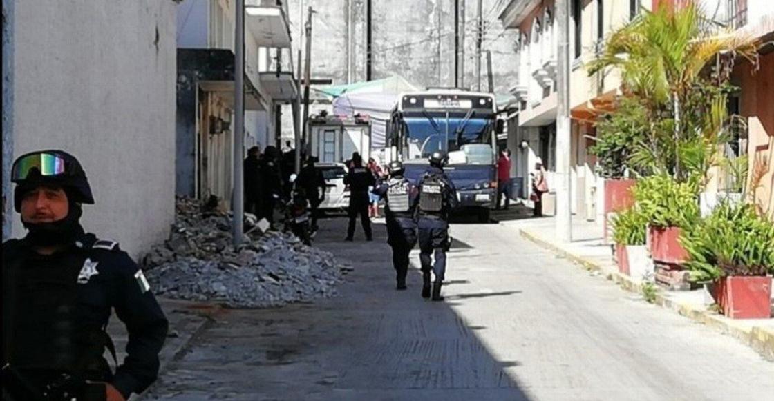 Policía estatal y Guardia Nacional toman control de seguridad en Río Blanco, Veracruz