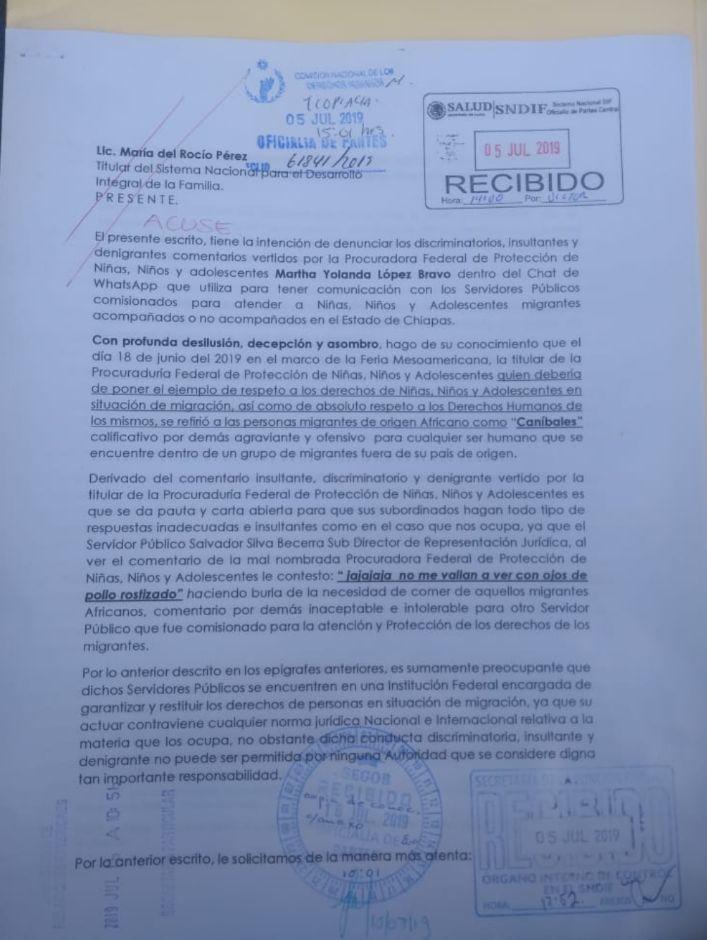 procuradora-canibales-migrantes-africanos-mexico-chiapas-denuncia