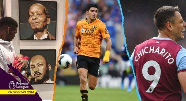 Raúl ya marcó, Pogba contra el racismo, la lesión de 'Chicharito: Lo que nos dejó la J3 de la Premier League