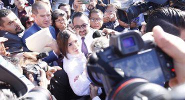 Rosario Robles ingresa al Reclusorio Sur... a una audiencia