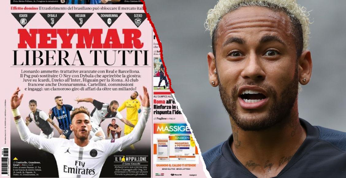 El 'efecto dominó' que se provocaría si Neymar va al Barcelona o Real Madrid