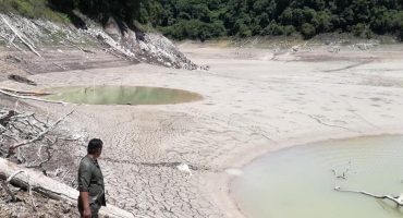 ¡No! Se secó una laguna en la Selva Lacandona en Chiapas