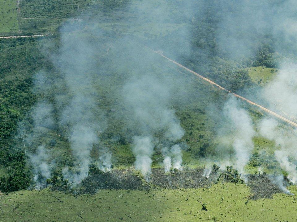Líderes del G7 enviarán ayuda para combatir incendios en Amazonas