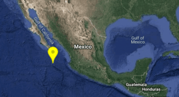 Se registra sismo de magnitud 5.8 en Baja California Sur