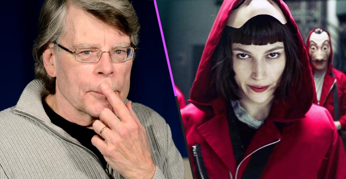 Esto es lo que piensa Stephen King de 'La Casa de Papel'
