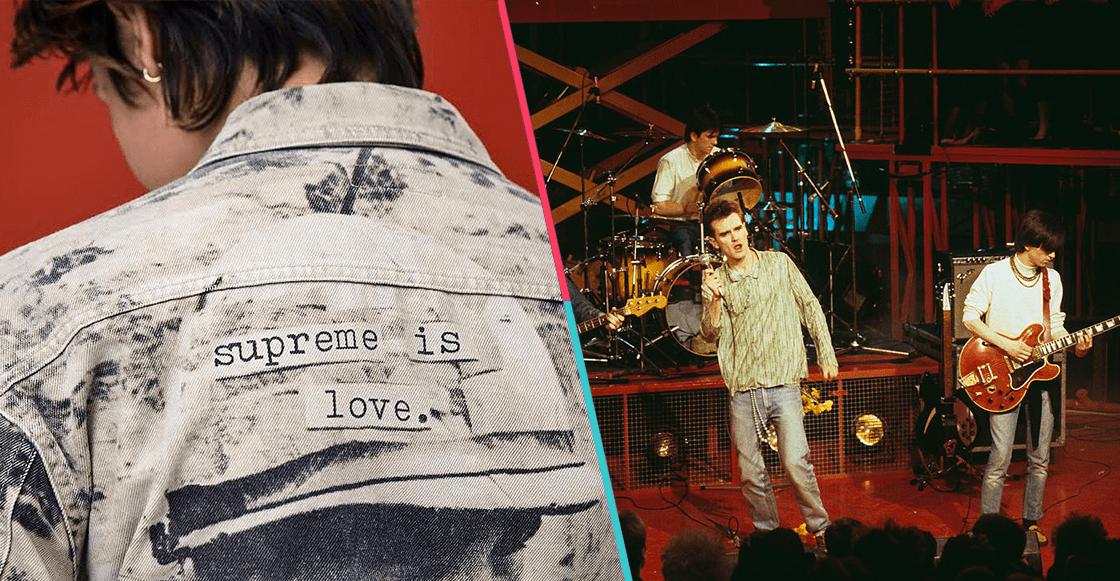 ¡Para farolear! Supreme lanzará una chamarra inspirada en The Smiths
