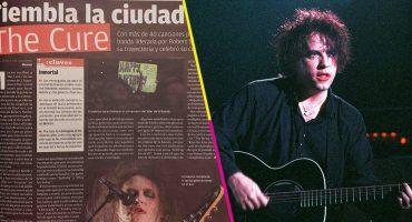 Todas las veces que The Cure ha venido a México (incluye el concierto del temblor)