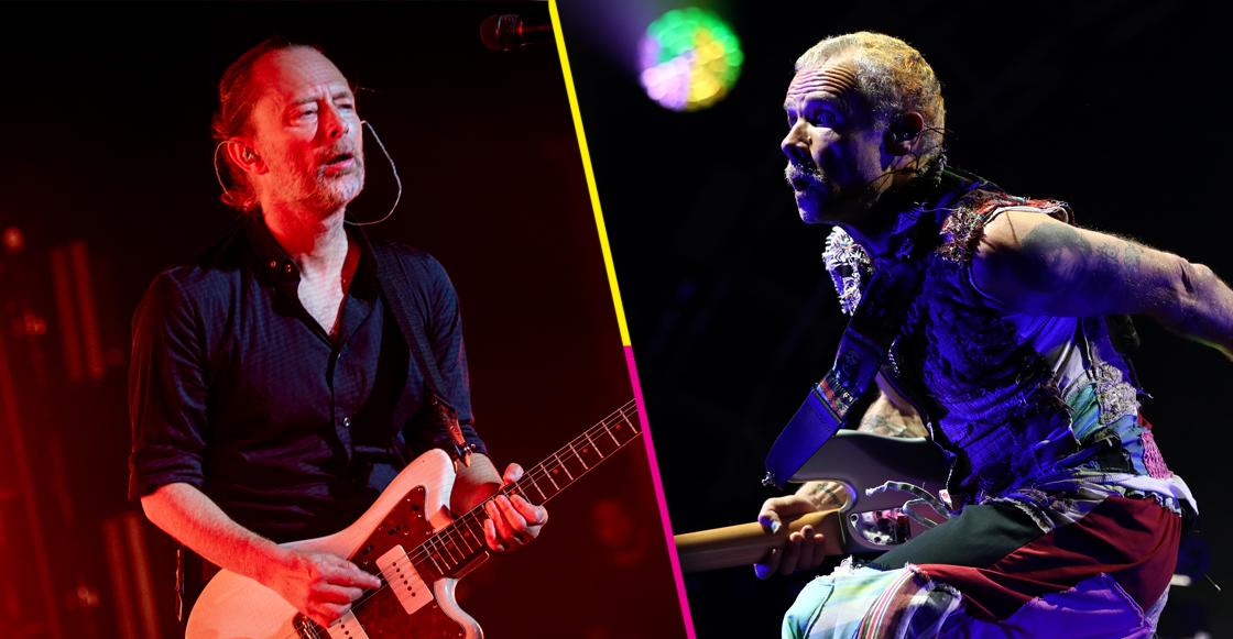 ¡Escucha acá la nueva canción de Thom Yorke con Flea de los RHCP!