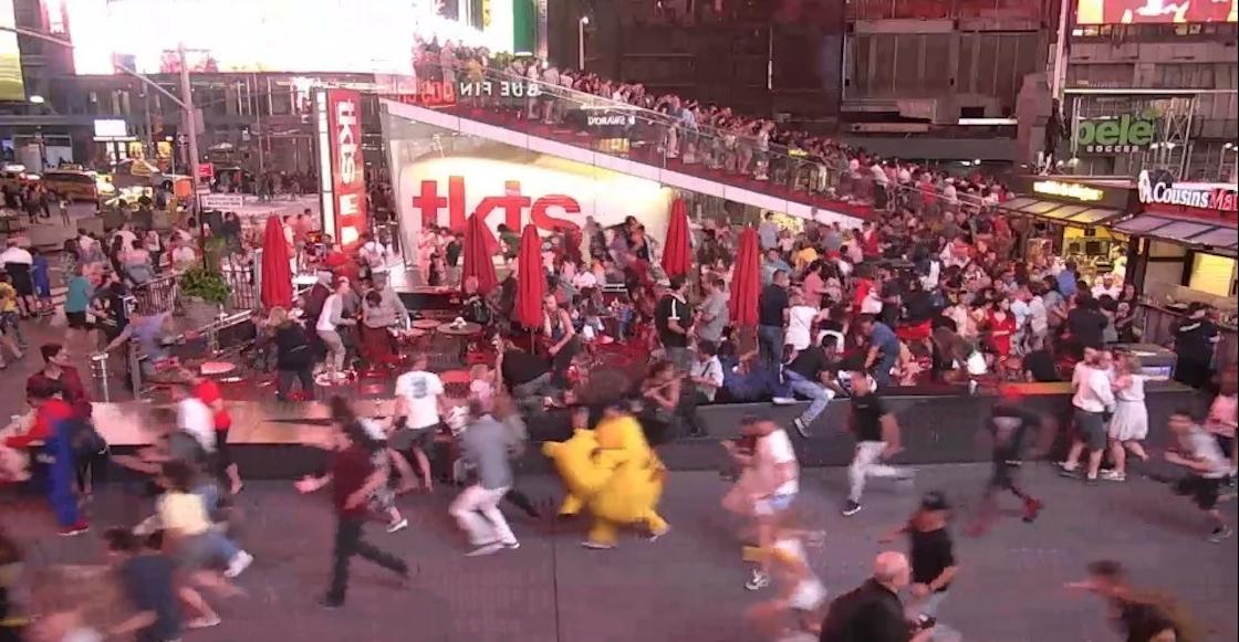 Pánico en Times Square: Cientos confundieron ruido de moto con tiroteo