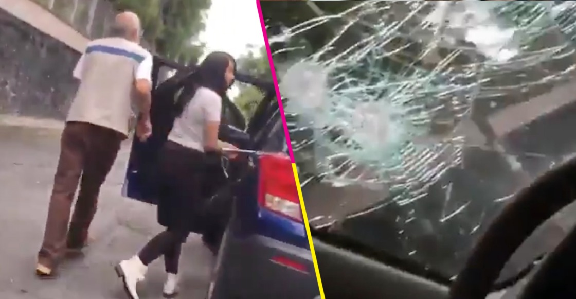 ¡Aguas con #LadyPiñata! Denuncian a joven por agresiones con un bate