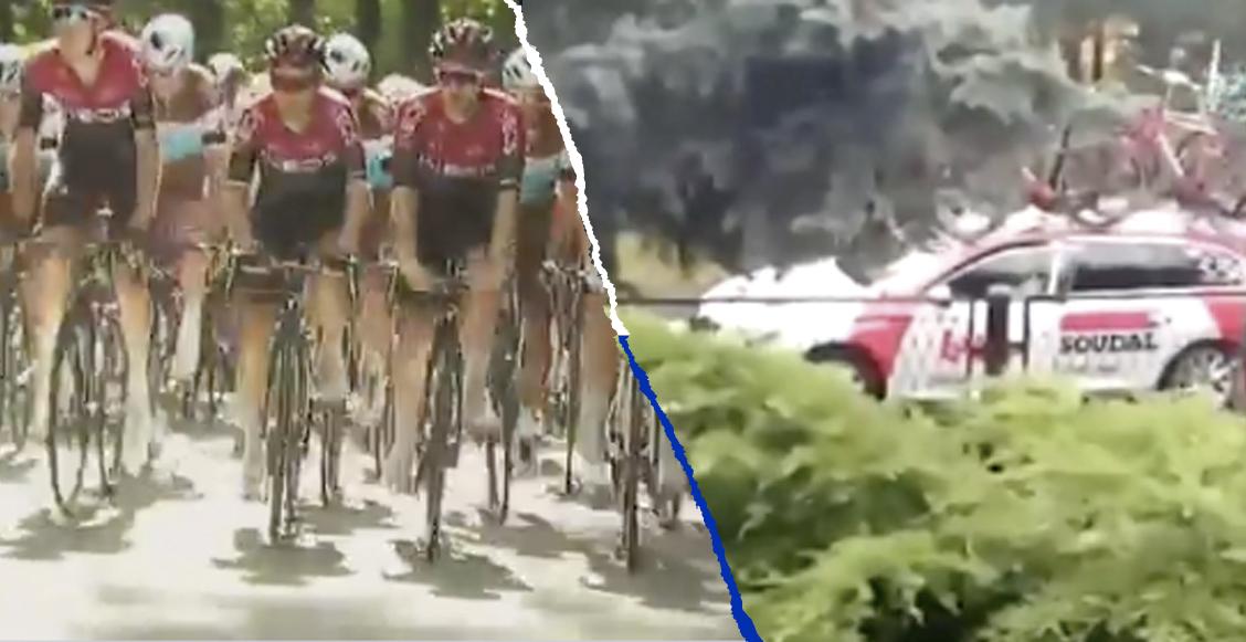 La brutal caída que dejó sin vida a un ciclista en la Vuelta a Polonia