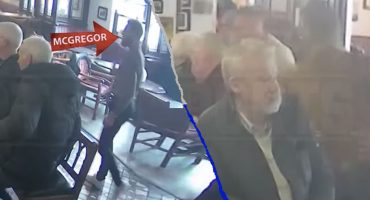 Conor McGregor golpeó a un hombre en un bar por no aceptarle un trago