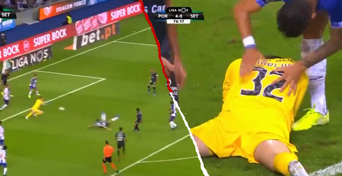 La espectacular doble atajada de Marchesín que volvió 'locos' a los fans del Porto