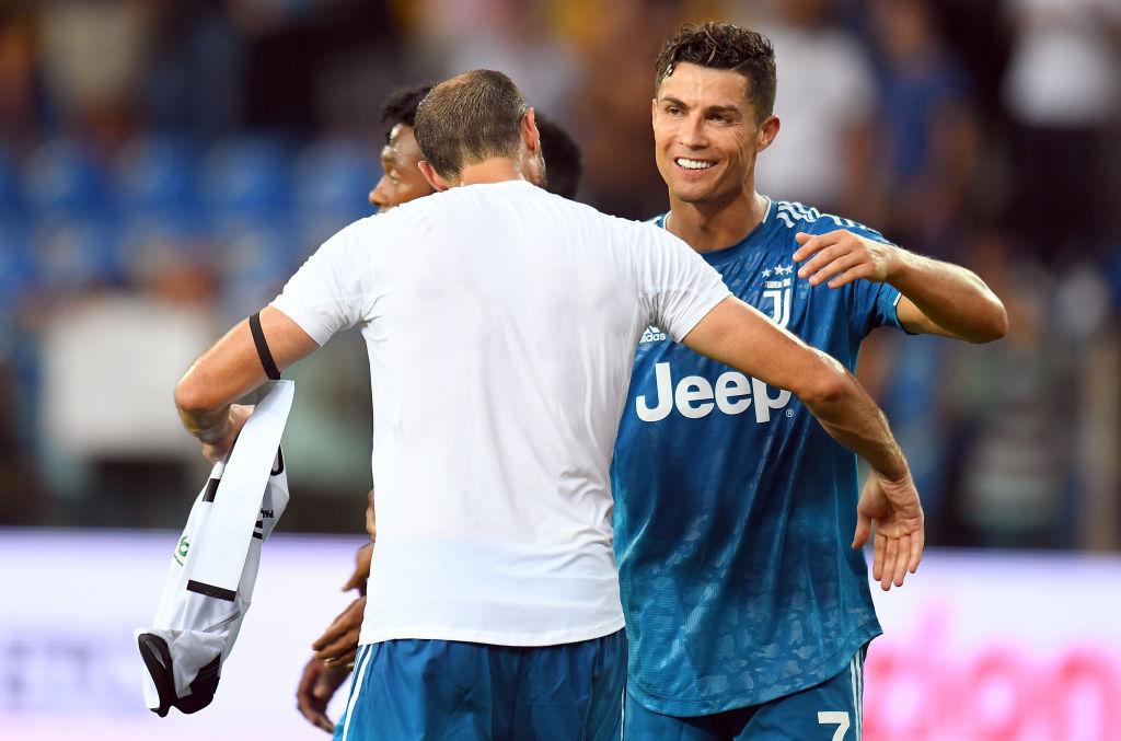 ¡Siiiiiuuuu! Napoli fue la víctima del primer gol de la temporada de Cristiano Ronaldo