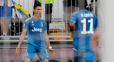 ¡De zurda, papá! Napoli fue la víctima del primer gol de la temporada de Cristiano Ronaldo