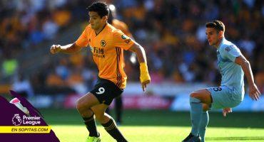 Raúl Jiménez rescató el empate para los Wolves de último minuto