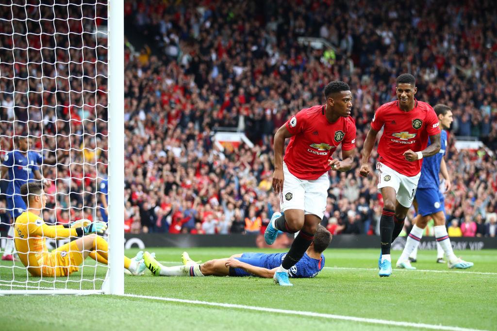 La estrepitosa goleada del Manchester United al Chelsea de Lampard