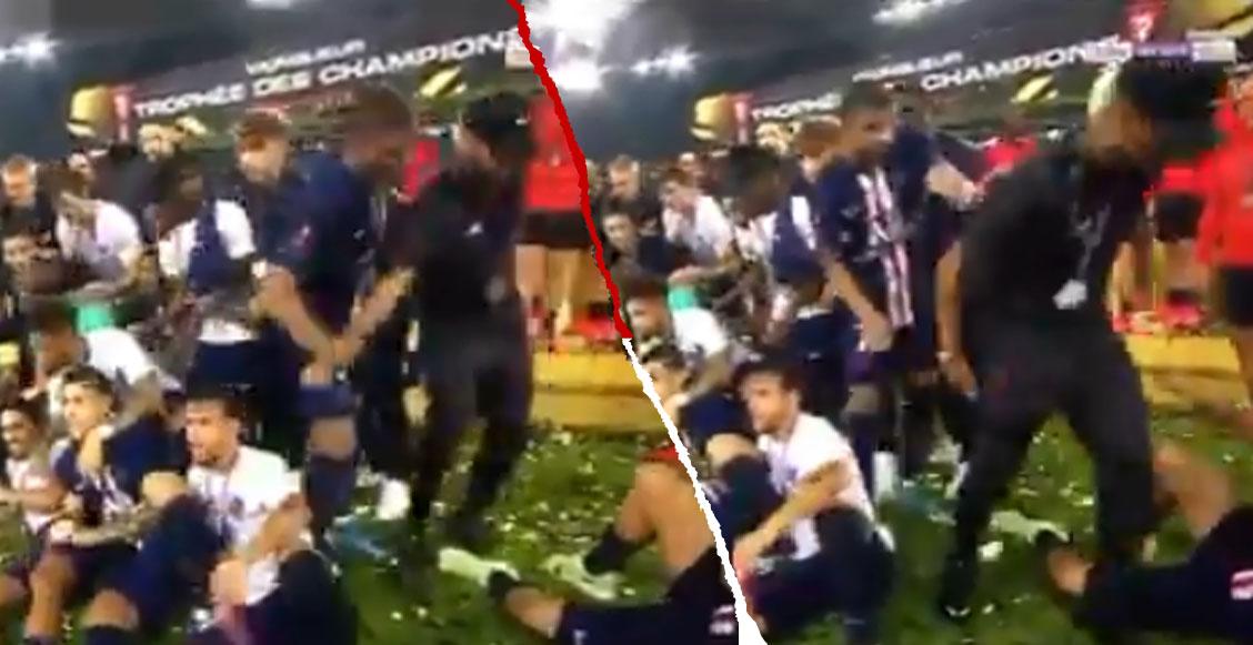 Mbappé sacó a Neymar de la foto de campeón y encendió la polémica en el PSG