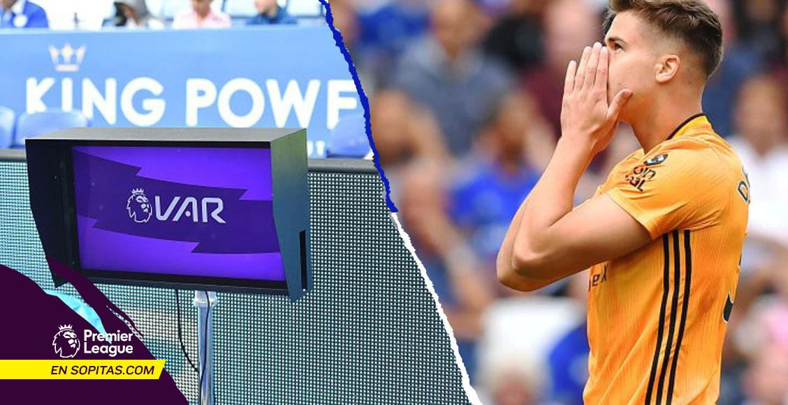 La jugada con la que el VAR le 'arrebató' los 3 puntos a los Wolves de Raúl Jiménez