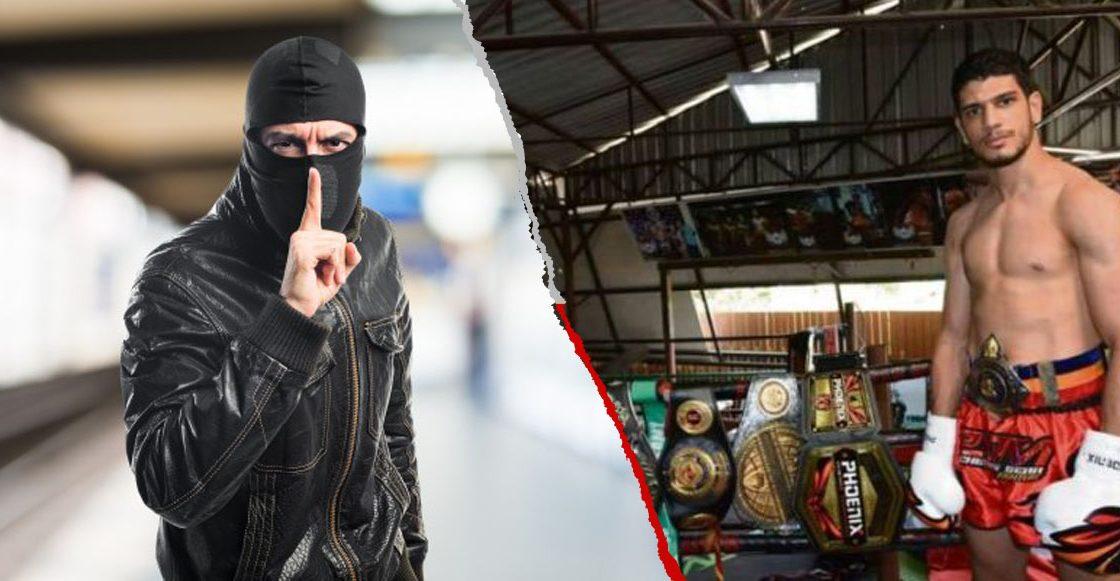 Ladrón le quiso robar el teléfono a campeón de Muay Thai y terminó con fractura de cráneo — Pésima idea