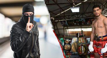 Intentó robarle el celular a un campeón de Muay Thai y terminó en el hospital